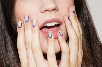 Sally Hansen for Rodarte Spring:Summer 2015 runway show